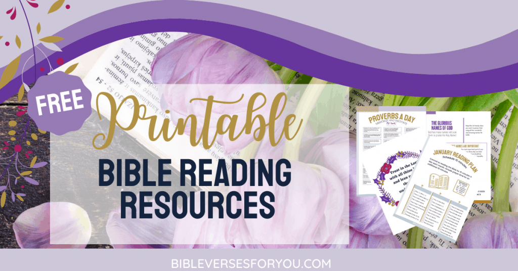 Grab our free printable Bible Reading Plan resources to ensure you understand the scriptures clearly.