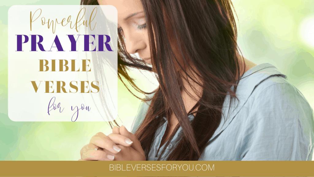 Powerful prayer Bible Verses for a successful prayer life.