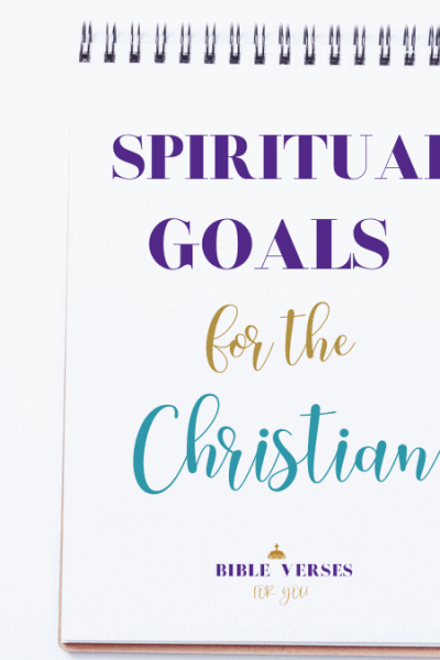 What are your spiritual goals as a Christian Woman? Find out the most important you can start today.
